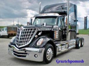Диагностика американскх грузовиков на выезде
