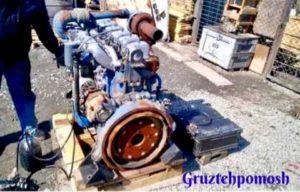 Запуск двигателя грузовых автомобилей