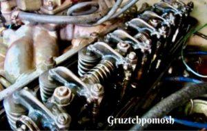 Регулировка клапанов двигателя грузовика на выезде